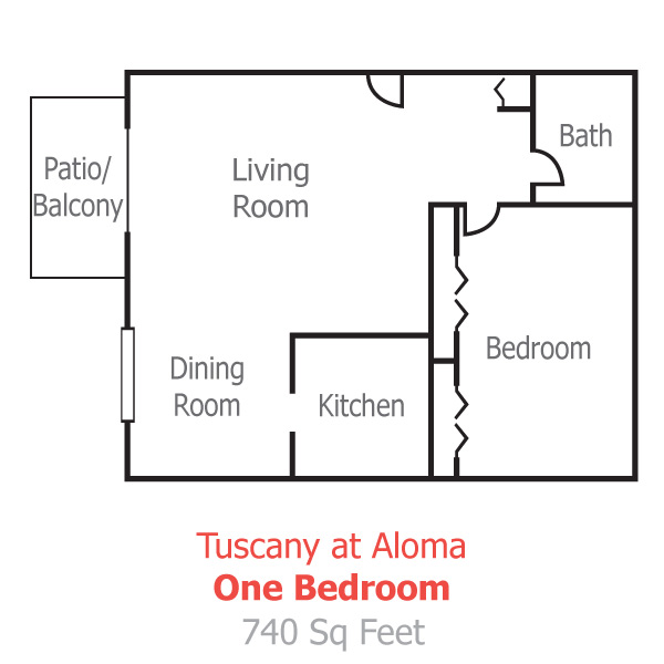 Winter Park Village Apartments: Floor Plans And Pricing For Tuscany Aloma Apartments